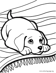 Coloring Pictures Of Puppys To Print And Color