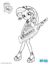 Rarity Coloring Page Syb My Little Pony Pages Rainbow Dash Equestria