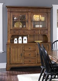 Mesmerizing Brown Audrey Sideboards Amusing Buffet Table With Hutch Vintage Throughout Antique Long Impressive Clunch Wood