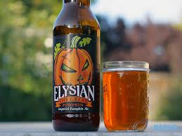 Imperial Pumpkin Ale by Elysian The Great Pumpkin Mixed And Mashed