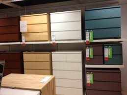 ikea malm gray turquoise 3 drawers chest assembled for a udc