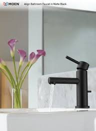 Delta Trinsic Bathroom Faucet Black by Delta Faucet 559ha Bl Dst Trinsic Matte Black One Handle Bathroom