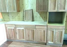 Unfinished Buffet Cabinet Sideboards Pine Hutch W