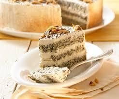 mohn mandel torte