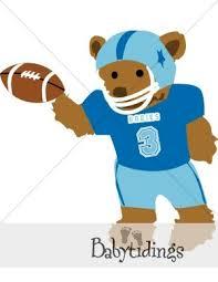 Blue Teddy Bear Clipart Papa