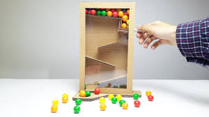 How To Make Candy Dispenser From Cardboard Easy DIY