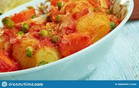 marqa batata tunesische küche stockfoto bild gekocht