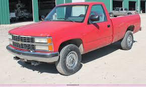 100 Chevy Pickup Trucks For Sale 1990 Chevrolet 2500 Pickup Truck Item C2806 SOLD Tuesda