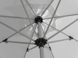 9 aluminum replacement frame umbrella frames