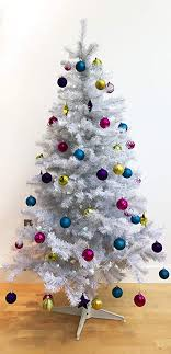 Homegear 6FT Deluxe 700 Tip Artificial White Xmas Christmas Tree