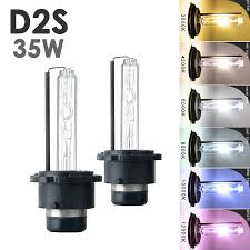 100 A1 Truck Parts 2x Xenon D2S HID Headlight Direct Replacement Bulbs 35W AC OEM 4K
