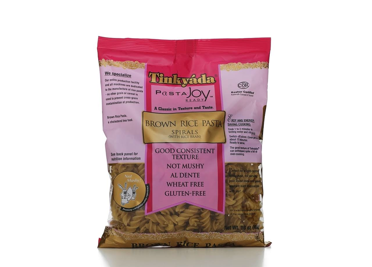 Tinkyada Pasta Brown Rice Pasta - Spirals, 16oz