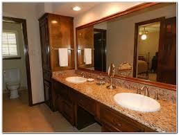 Bathroom Linen Cabinets Menards by Bathroom Vanity And Linen Closet Combo Roselawnlutheran