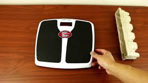 health o meter digital weight scale youtube