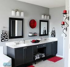 Leopard Bathroom Decorating Ideas by Best 25 Red Bathroom Decor Ideas On Pinterest Restroom Ideas