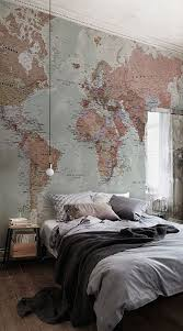 our classic world map mural is a beautiful design that is