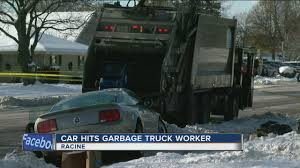 100 Garbage Truck Accident Racine Garbage Truck Worker Killed In Crash YouTube