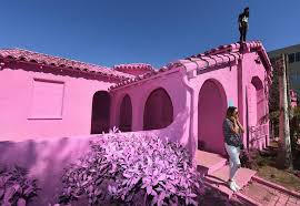 TMFA Pink House Photo Credit MARK RALSTON AFP Getty Images