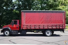 100 2005 Hess Truck INTERNATIONAL 4300 W 21 CURTAINSIDE BOX TRUCK VAN Curtain