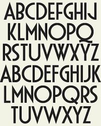 deco typography history deco style 101