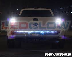 49 ledglow led tailgate truck light bar w white led