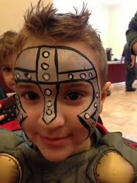 Coloring PagesAmazing Knight Face Painting Soldier Paint Www Com Pages