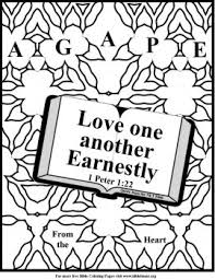 Free Bible Coloring Pages About Love And Free Bible Valentines