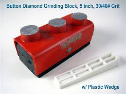 Edco Floor Grinder Home Depot by 5 Inch Button Diamond Grinding Block For Floor Concrete Grinder