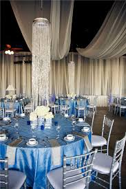 Royal Blue Ivory And Silver