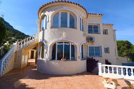 100 Villa In For Sale In Calpe Calp Cucarres With Swimming Pool
