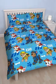 ficial Paw Patrol Spy Reversible Double Duvet Cover Bedding Set