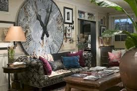 schöne wanddekoration im modernen wohnzimmer klassische