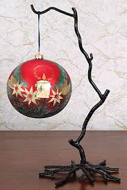 Wrought Iron Twig Stand
