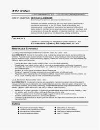 Resume Mechanical Engineer Simple Engineering Templates Examples Beautiful Template Large Size