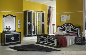 serena klassische schlafzimmer schwarz grau