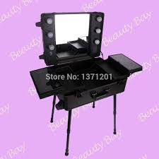 free shipping to europe india uk black lighted makeup table