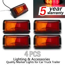 4 X 8-LED SIDE MARKER LIGHTS, CLEARANCE LAMP RED AMBER TRAILER ... 5pcslot Yellow Car Side Marker Light Truck Clearance Lights Cheap Rv Find Deals On Line 2008 F150 Leds Strobe All Around Youtube 1 Pcs 12v Waterproof Round Led And Trailer 212 Runningboredswithlights Ford F350 Running Board Trucklite 9057a Rectangular Signalstat Replacement Lens For Blazer Intertional 34 In Clearanceside Chevrolet Silverado 2500hd Questions Gm Roof Kit