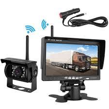 100 Rear Camera For Truck Amazoncom Emmako Backup Wireless And 7 Monitor Kit RV