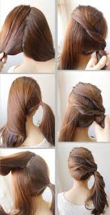 cute and easy hairstyles for school step by step Google Search