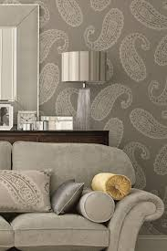 Grey And Purple Living Room Wallpaper by Large Print Wallpaper Designs 25 Best Ideas About Paisley