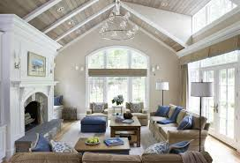some vaulted ceiling lighting ideas to your home design