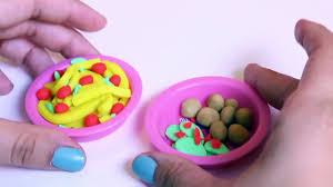 Dora The Explorer Kitchen Set by Peppa Pig Cooking Play Set Play Doh Food Ice Cream Playdough Chef