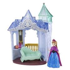 Frozen Bathroom Set Walmart by Disney Frozen Small Doll Anna And Palace Play Set Walmart Com