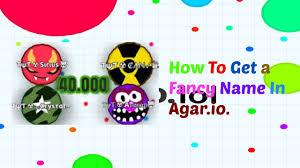 Agario Fancy Text Names