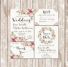Custom Wedding Invitation Kits