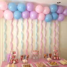 Birthday Party DecorParty Table Decoration Idea For Girls Wall Decor Ideas Bithday