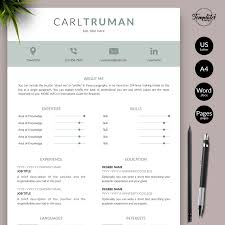 """Carl Truman"" Modern Resume CV Template For Word & Pages / US Letter & A4  Files + 1, 2, & 3 Page Resume Version + Cover Letter + References + Cover  ... 25 Examples References Resume Template 7k Free Example 10 Of Professional Letter Templates Page When Sample 17 Samples Format Rumes Format Best Should Reference Sheet For How To Job Make Resume Ferences Mplate List Samplermat Uk In Guide Many Simple Cv Mplates Forjob Application Cover 1 2 3 Word Design Elegant Alice On Nursing"