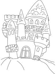 Disney Castle Coloring Pages Free Adult Detailed Printable