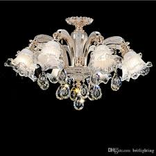 European Style Hotel Crystal Chandelier Living Room Bedroom Dining Lamp Simple Modern Atmosphere Duplex Floor Pndant Lights Farmhouse