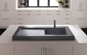 Blanco Precis Sink Cinder by Cinder Blanco Sink Befon For